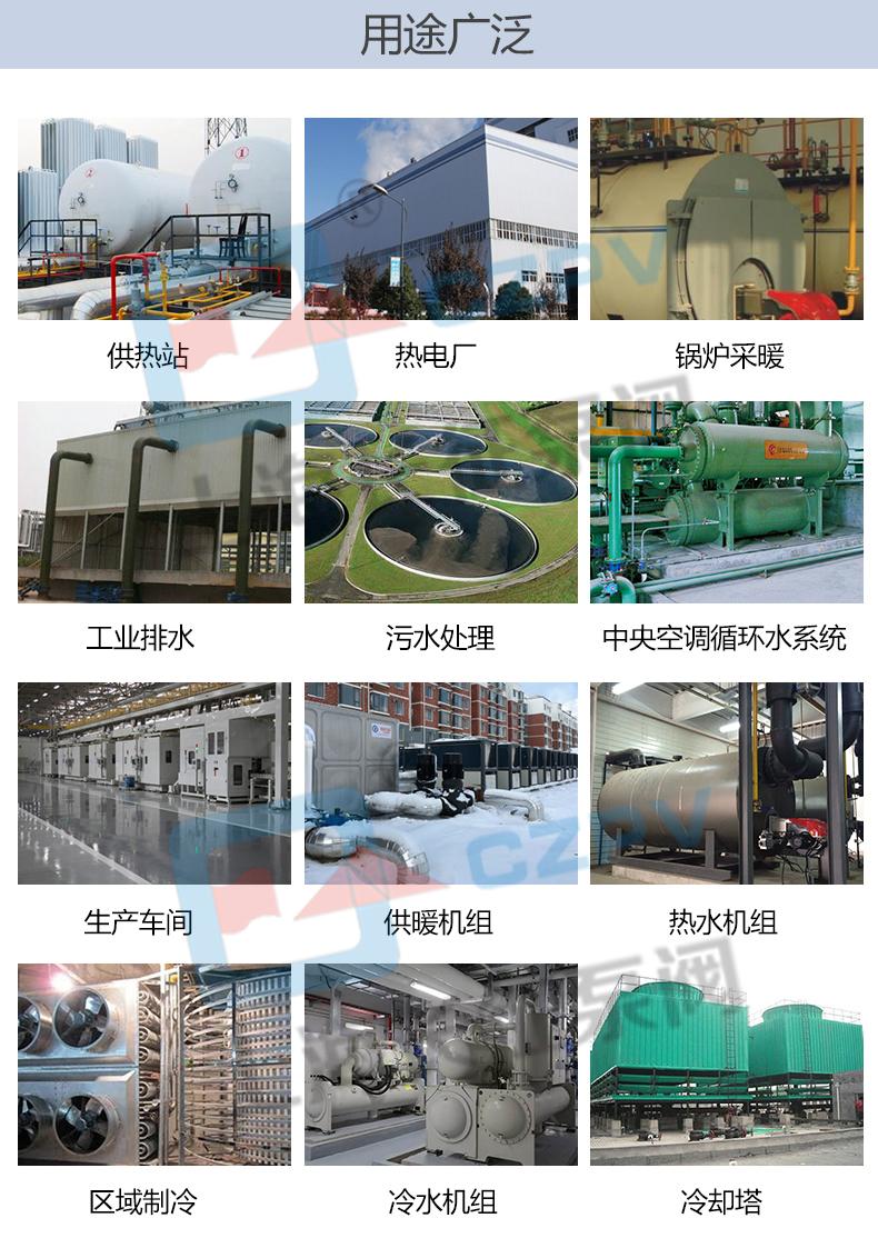 GDL立式多级管道离心泵循环水泵产品用途图